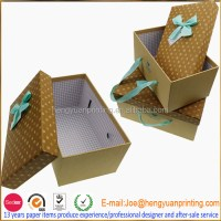 Decorative Cardboard Storage Boxes With Lids Ch851 - Buy ...