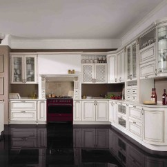 Cheap Cabinets For Kitchen Island With Range China Modern White Solid Wood Cabinet Unit ...