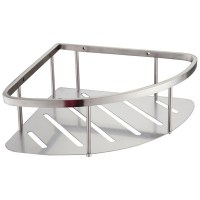 Stainless Steel Corner Shelves - Home Design