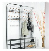 Home Furniture Metal Hat Stands Coat Hanger Stand With ...