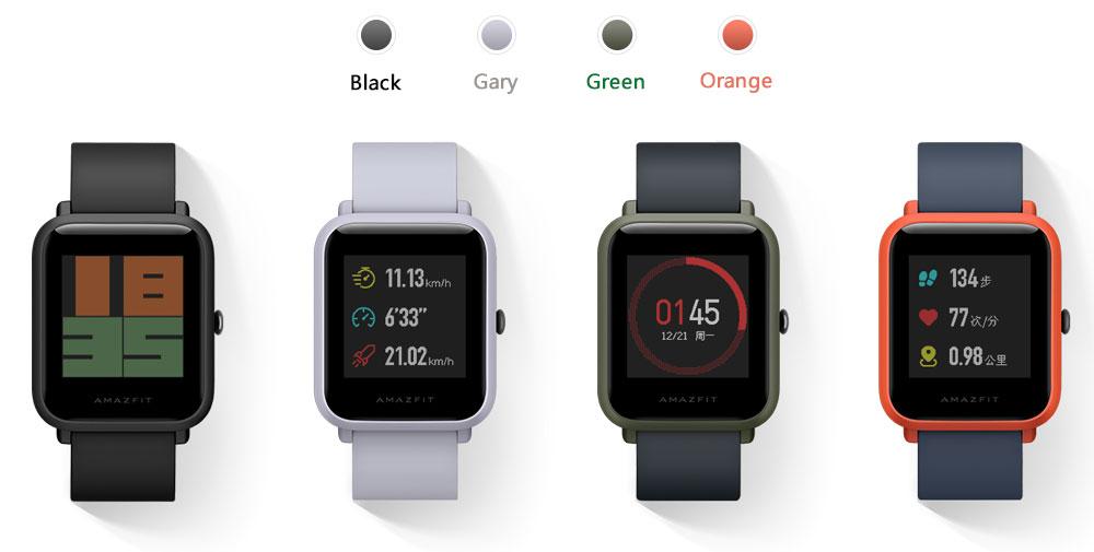 Original Xiaomi Huami Amazfit Youth Smart Bip Bit Face GPS Fitness Tacker Heart Rate Monitor IP68 Waterproof English Version (9)