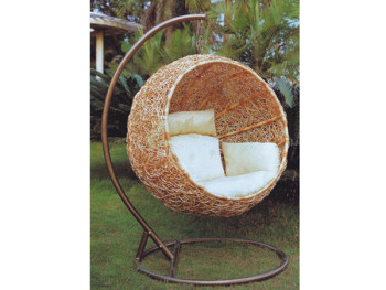 hanging chair egg office white single seat balcony swing indoor patio buy product on alibaba com
