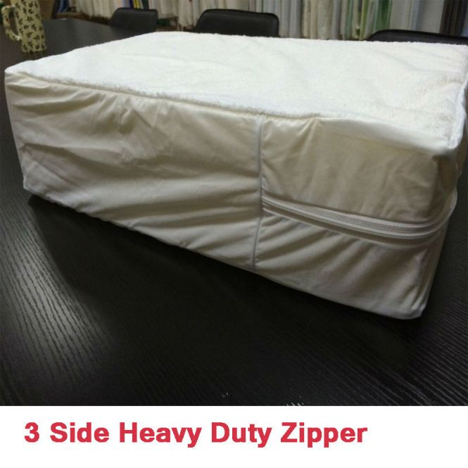Heavy Duty Waterproof Bed Mattress Protector Cover Plastic Sheet Single Double