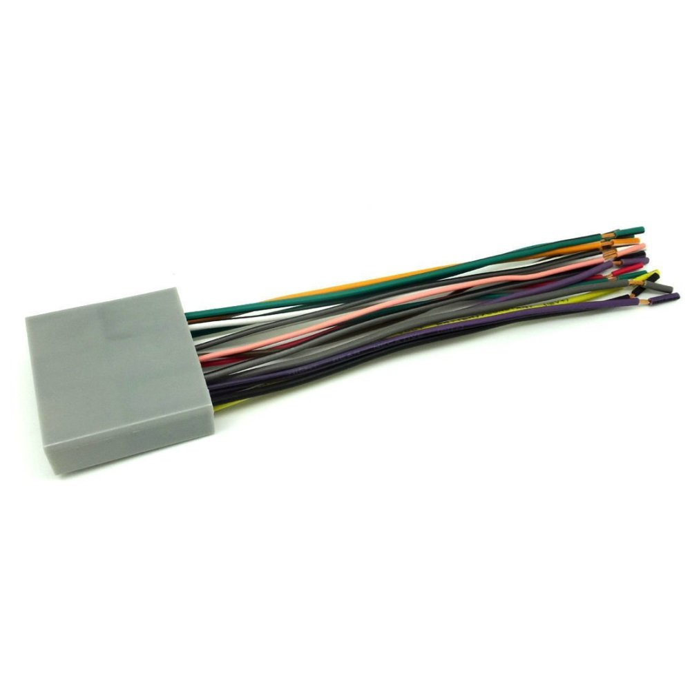 medium resolution of conpus car stereo cd player wiring harness wire adapter plug for aftermarket radio 2007 2011