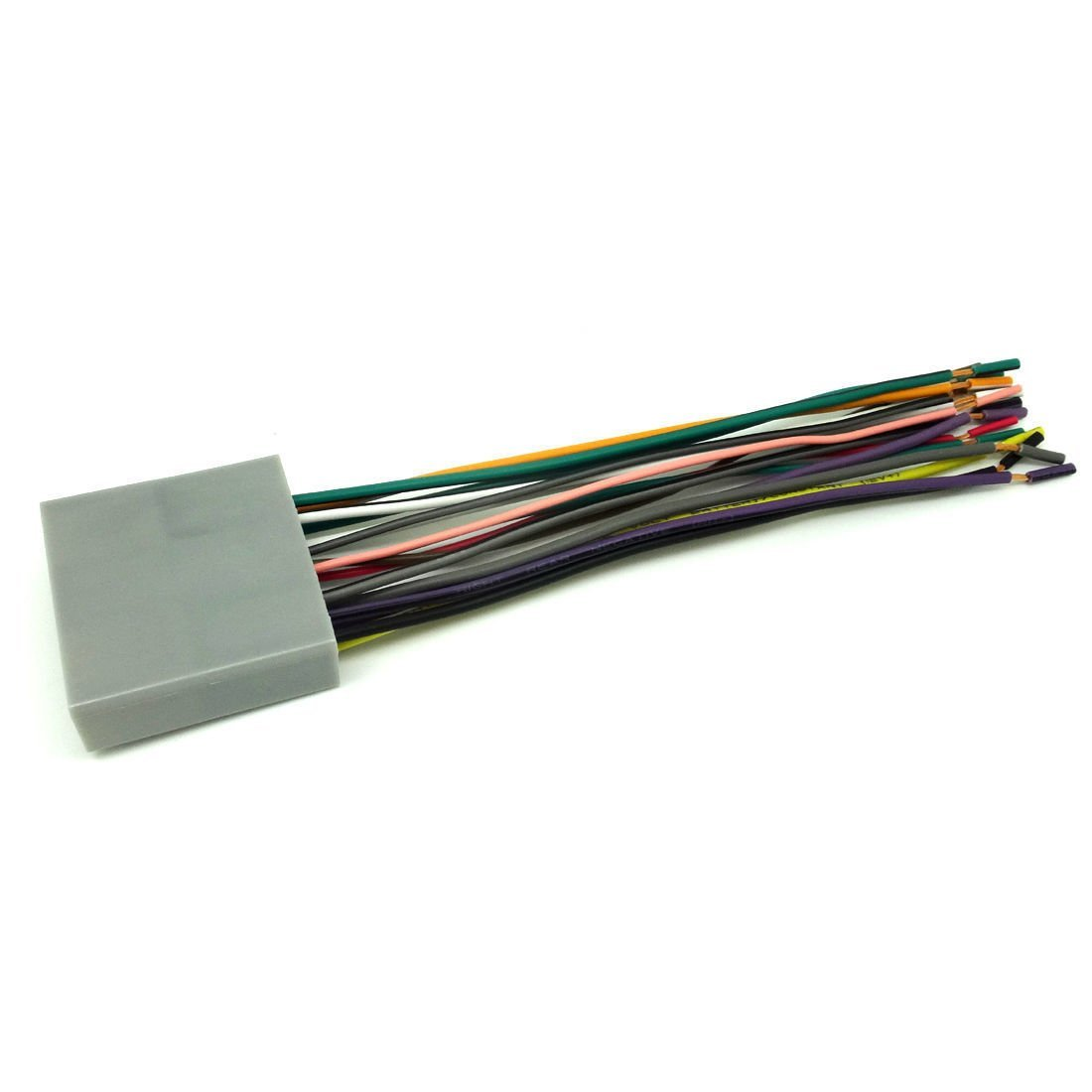 hight resolution of conpus car stereo cd player wiring harness wire adapter plug for aftermarket radio 2007 2011