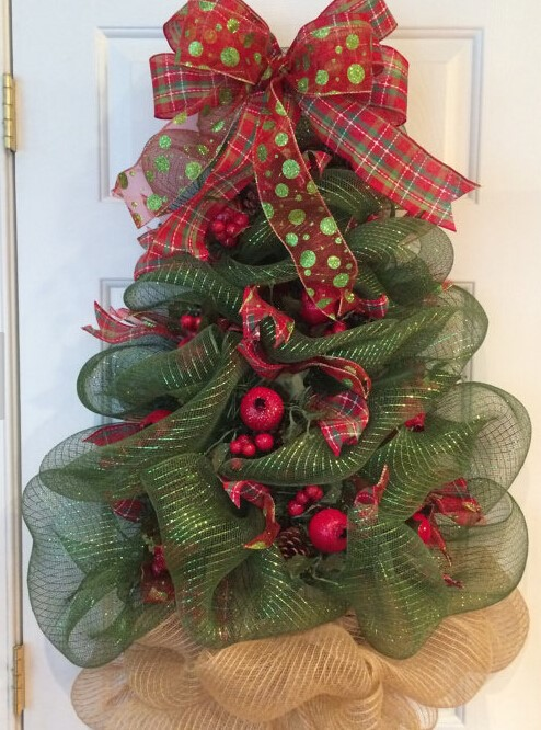 s product detail christmas tree wreath huge deco mesh christmas tree wreath christmas deco mesh wreath holiday door decoration l