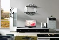 2014 New Design Simple Tv Wall Unit Was Made From E1 Mdf