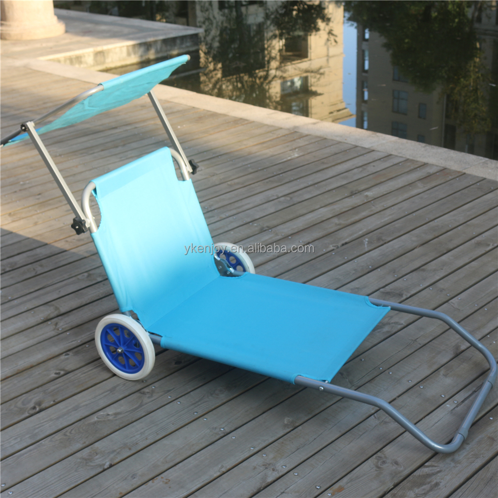 Folding Chaise Lounge Chairs Outdoor Outdoor Furniture Sunbed Folding Canopy Chaise Lounge Chair Wheels Buy Lounge Chair Lounge Chair Wheels Outdoor Furniture Sunbed Folding Canopy