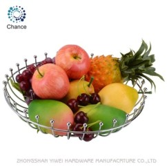 Fruit Basket For Kitchen Rustic Clock Hot Selling Chrome Metal Wire Drawing With Reasonable Price C3066 Buy And Vegetable Food