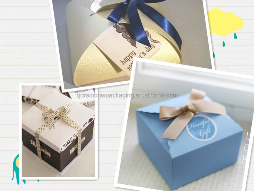 Customized Corrugated Chocolate Box Wedding Invitation Made In China From Shichao