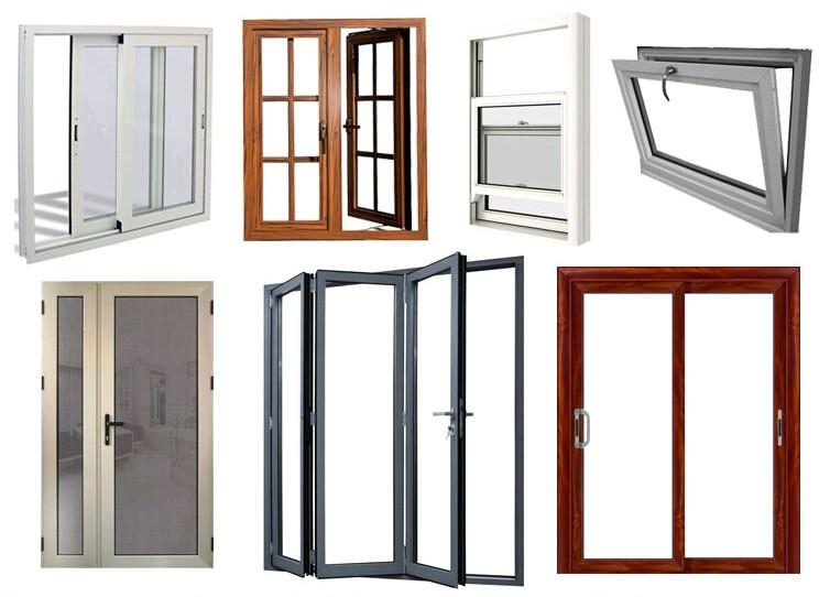sound proof aluminum window/residential windows, View