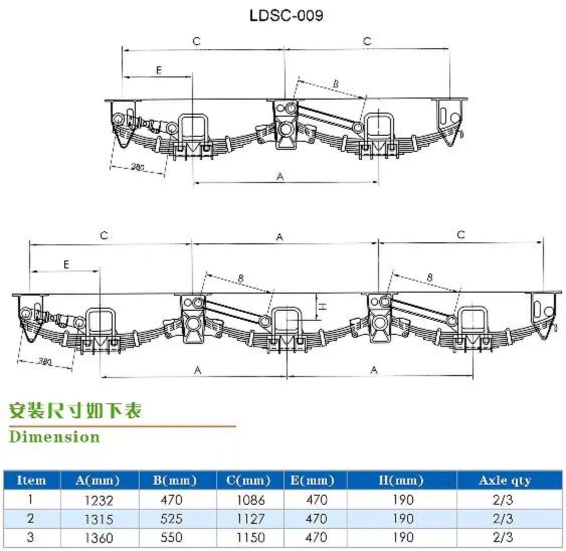 hight resolution of semi trailer leaf spring seat american round type casting mechanical heavy truck suspension spare parts