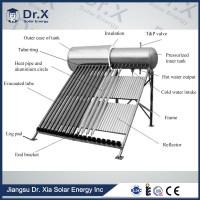 300l Heat Pipe Pressurized Water Heater Solar - Buy Water ...