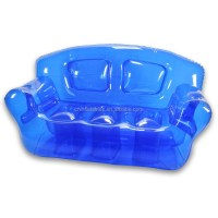 Popular Colorful Transparent Inflatable Sofa/chair For