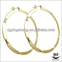 Indian Clip On Earrings Circle Earring Gold Hoop Earrings ...