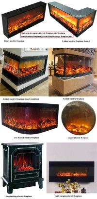 Insert Installation Multi Sided Fireplace Type 2 Sided ...