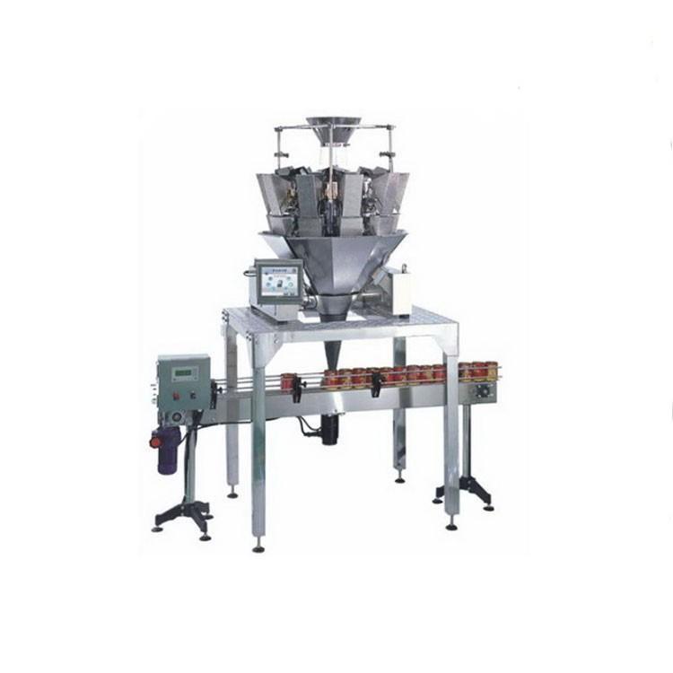Industrial 14 Head Weighing Packaging Machine To Pack Tea