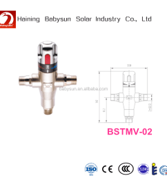 high quality solar hot water heater thermostatic mixing valve [ 1000 x 1000 Pixel ]