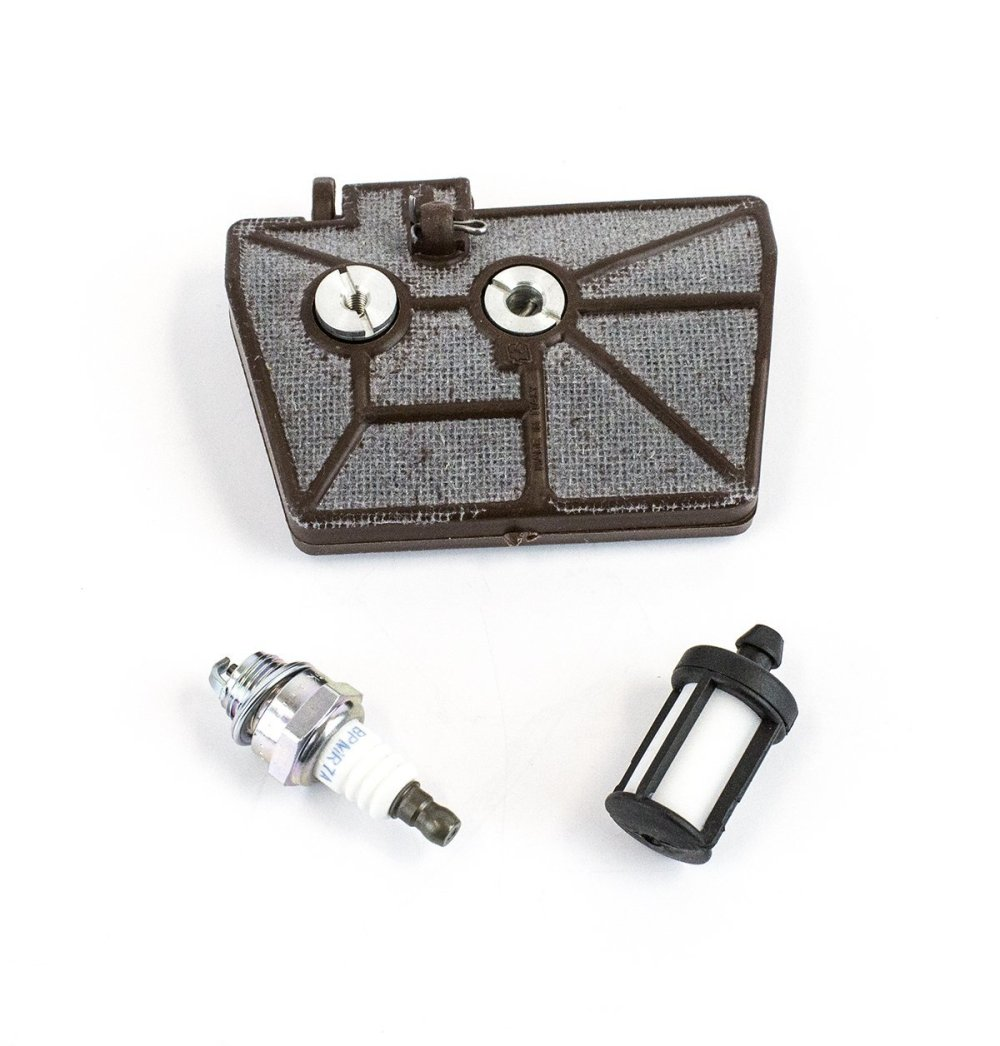 medium resolution of stihl maintenance kit for 038 ms380 ms381 with spark plug air filter fuel filter