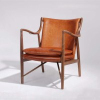 Tan Leather Chair,Antique Style Uk Solid Wood Lounge Chair ...