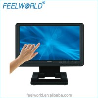 10.1 Widescreen Usb Rs232 Interface Monitor Touch Screen