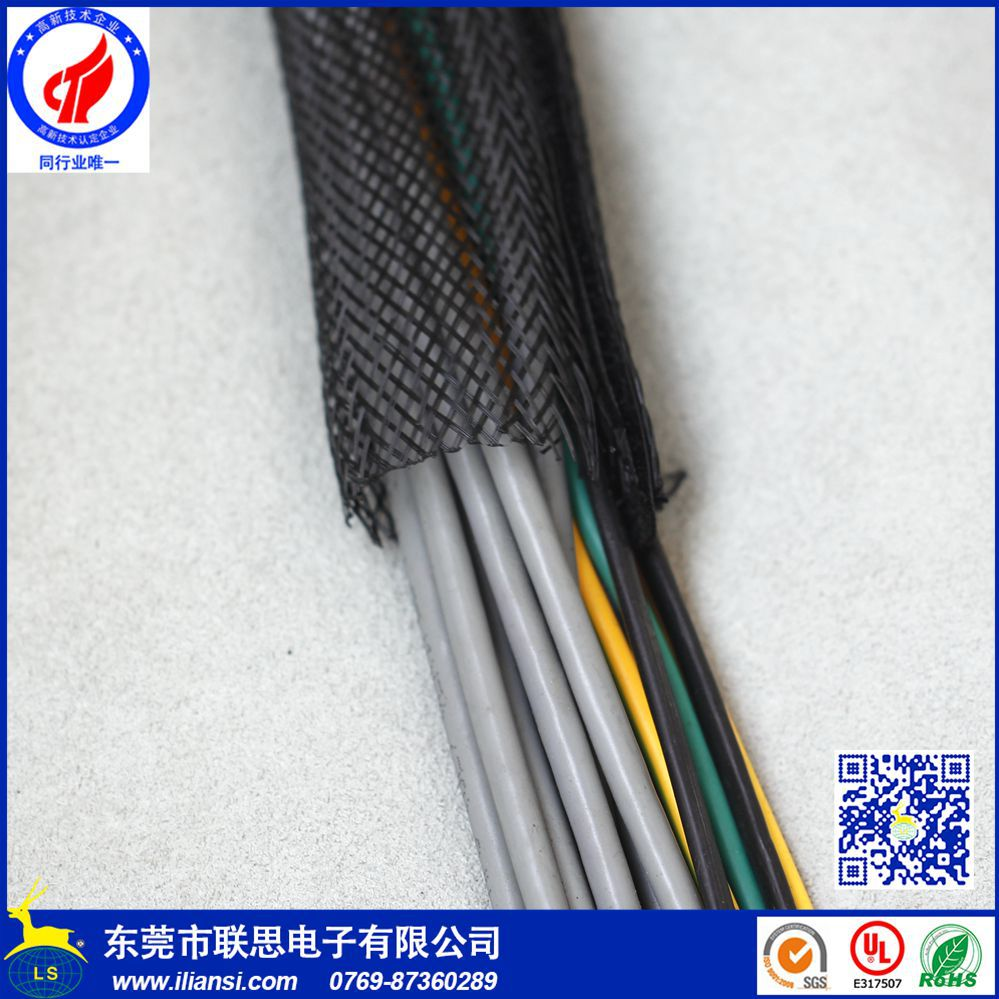 hight resolution of f6 wire harness protection pet split wrap sleeving with braided buy wire protection sleeve