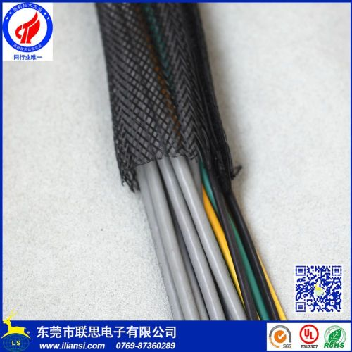 small resolution of f6 wire harness protection pet split wrap sleeving with braided buy wire protection sleeve