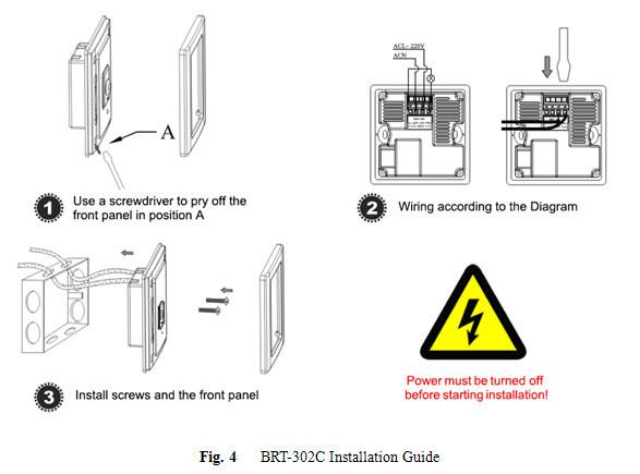 Light Wall Switch Human Motion Detection Vacancy Pir