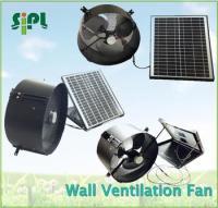 Sunny Solar Panel Wall Mounted Ventilation Fan Exhaust Fan ...