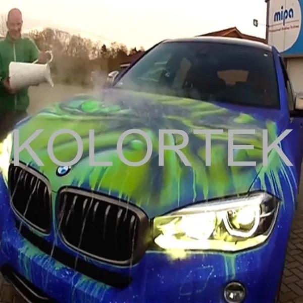 thermochromic paint heat sensitive