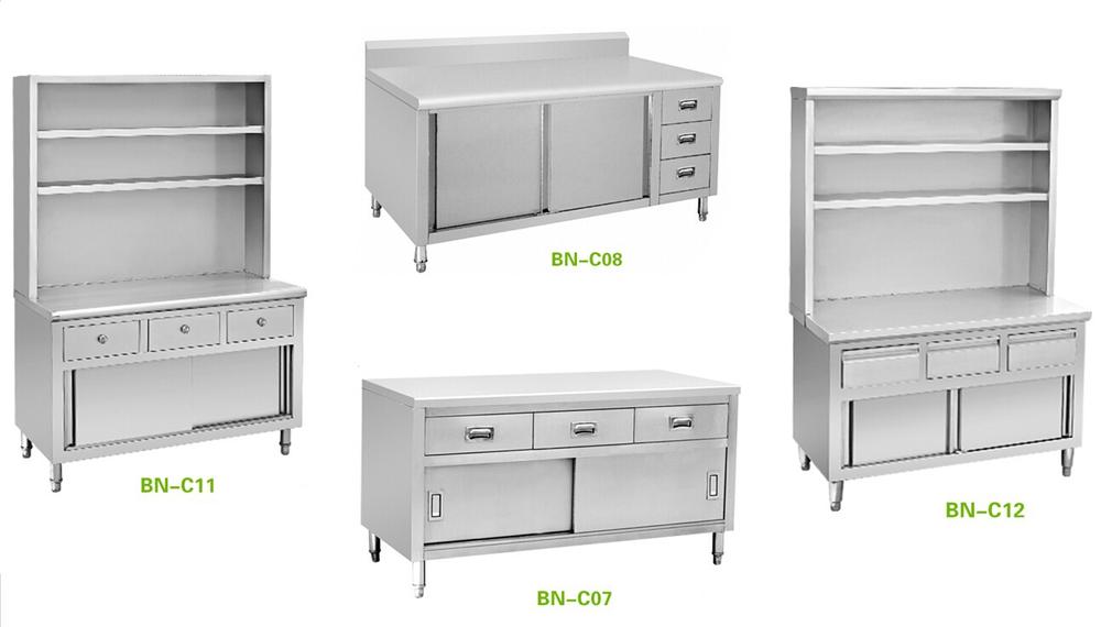 Fast Food Restaurant Stainless Steel Kitchen Storage