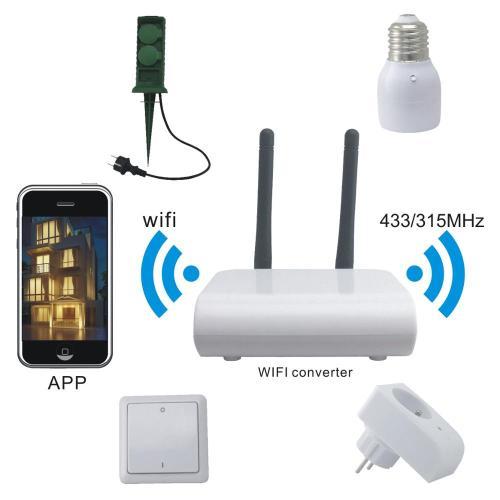 small resolution of google home amazon alexa smart home automation kit digital rf remote control wireless smart home light