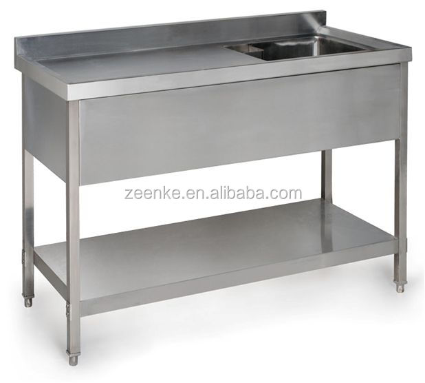 For Hotel Kitchen Used Commercial Stainless Steel Sinks