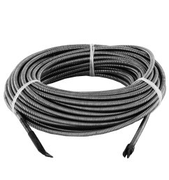 get quotations orangea 100ft drain cleaning cable 3 8 drain auger cable cleaner snake clog pipe [ 1500 x 1500 Pixel ]