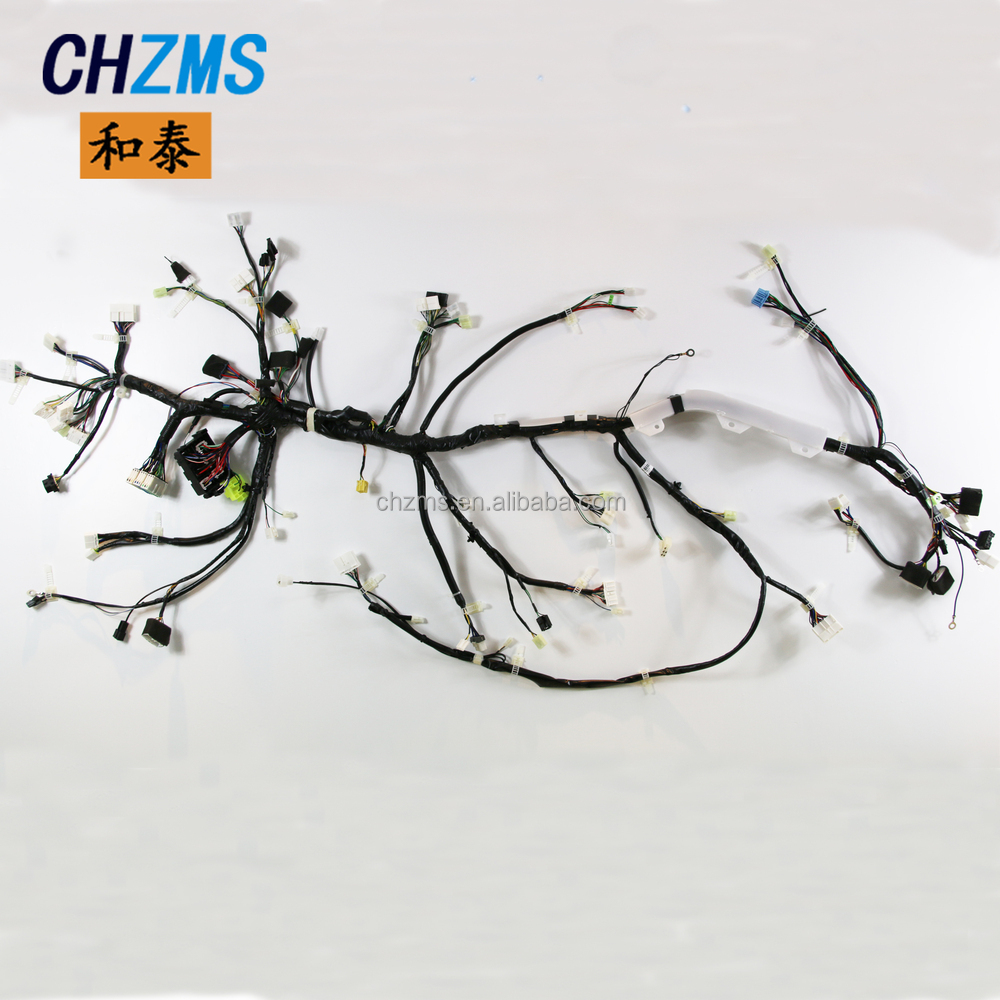medium resolution of car wire harness custom made big equipment wire harness production line
