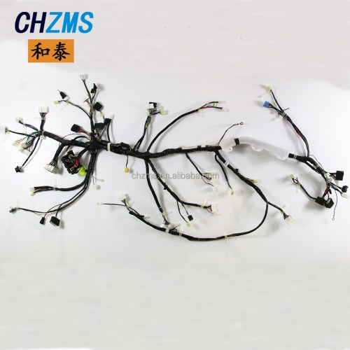 small resolution of car wire harness custom made big equipment wire harness production line