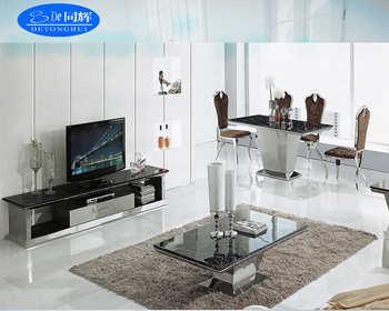 living room sets with tv rustic beach ideas 841 modern design granite stand dining table tea buy plate floor