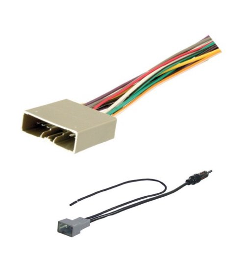 small resolution of get quotations asc audio car stereo radio wire harness and antenna adapter to aftermarket radio for 2006