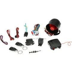 smart car alarm system auto security system universal for 12v cars tsk 100d csd 100 [ 1000 x 1000 Pixel ]