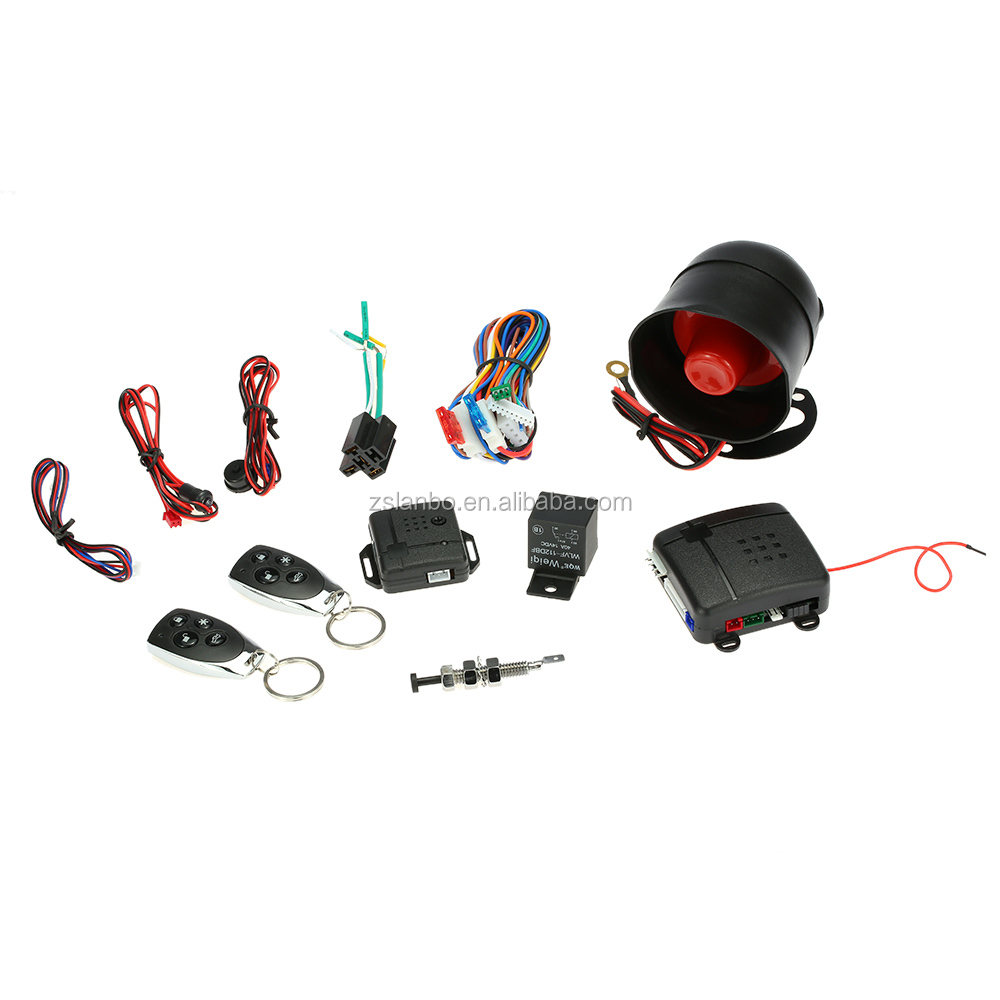 hight resolution of smart car alarm system auto security system universal for 12v cars tsk 100d csd 100