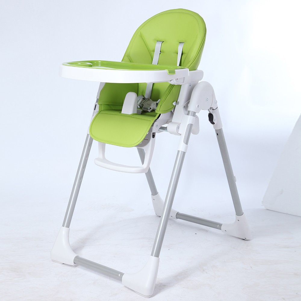 padded high chair kmart dining chairs korean standard safe soft seat orange plastic baby eating
