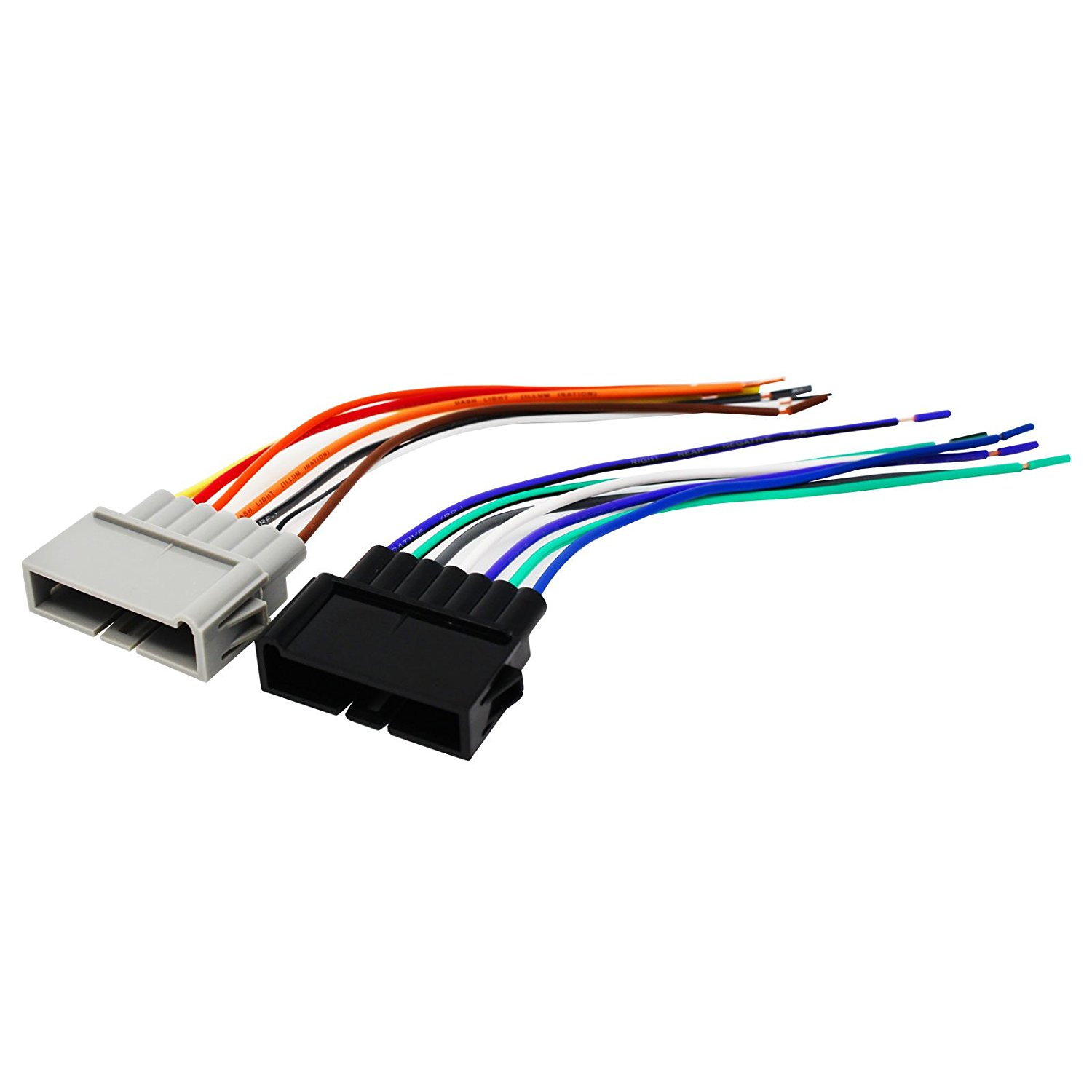 hight resolution of get quotations replacement radio wiring harness for 2000 dodge ram 3500 van base extended cargo van 3