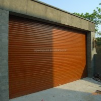 Residential Security Aluminum Automatic Roll Up Garage ...