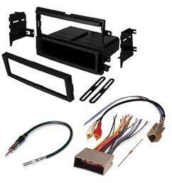 get quotations ford f250 f350 f450 super duty car radio stereo radio kit dash installation mounting wiring harness [ 1000 x 1000 Pixel ]