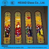 Hexad Tiffany Stained Glass Window Glass For Decoration ...