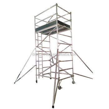 Aluminum Scaffolding Tower With Scaffolding Tools