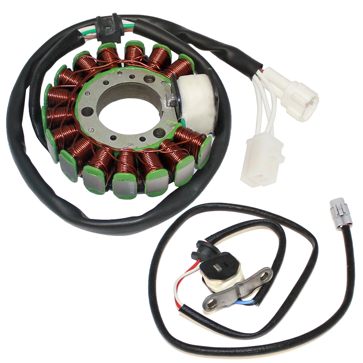 hight resolution of get quotations caltric stator fits yamaha tw200 tw 200 trailway 200 2001 2014 2015