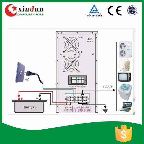 small resolution of dc to ac power inverter 48 96vdc 220vac 5000w circuit diagram