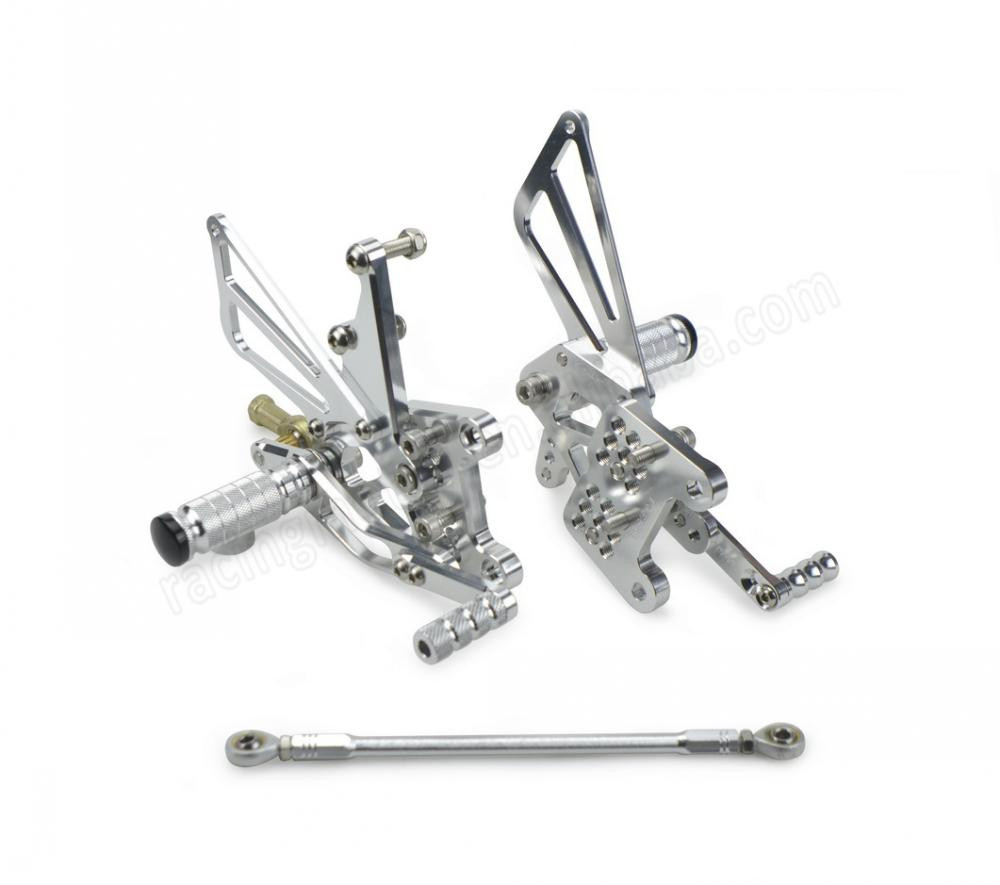 Motorcycle Cnc Adjustable Rearset Foot Pegs Rear Sets For