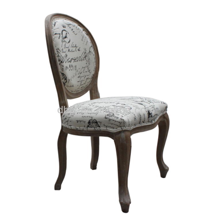 french louis chair bamboo cushion round dining xvi